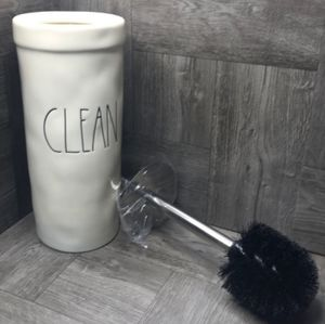 NWT🌿Rae Dunn CLEAN Toilet Brush